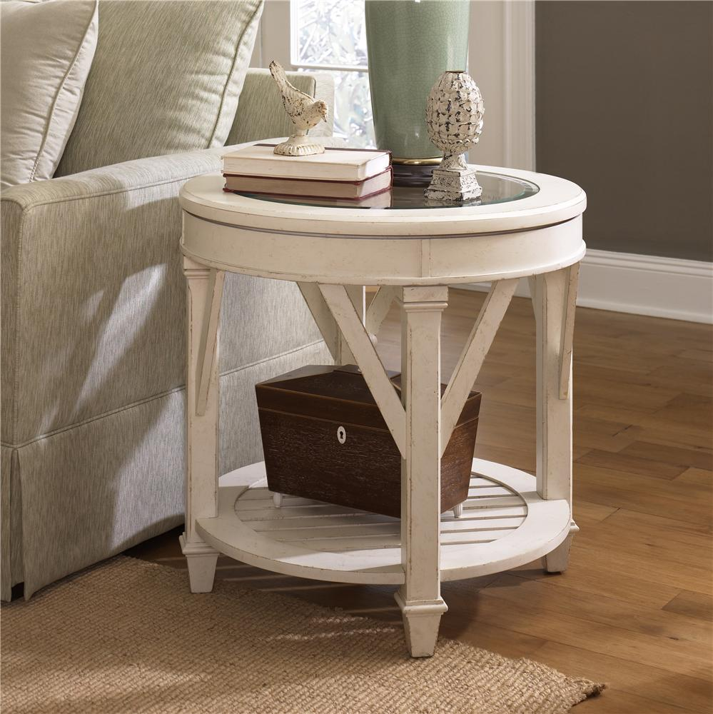 Hammary Promenade Round End Table Wayside Furniture End Tables