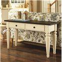 Morris Home Furnishings Heartland Sofa Table with 2 Drawers