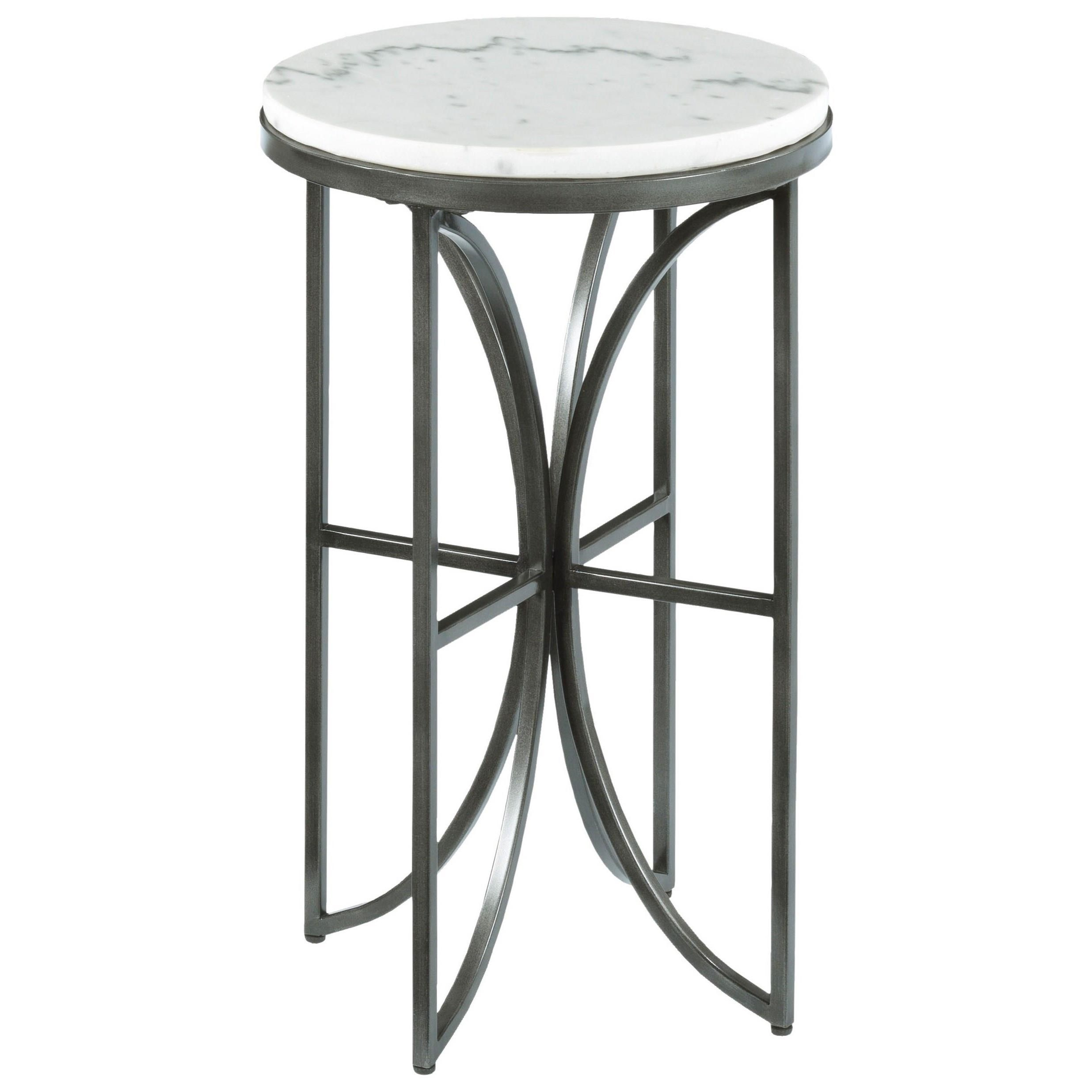Small round accent table