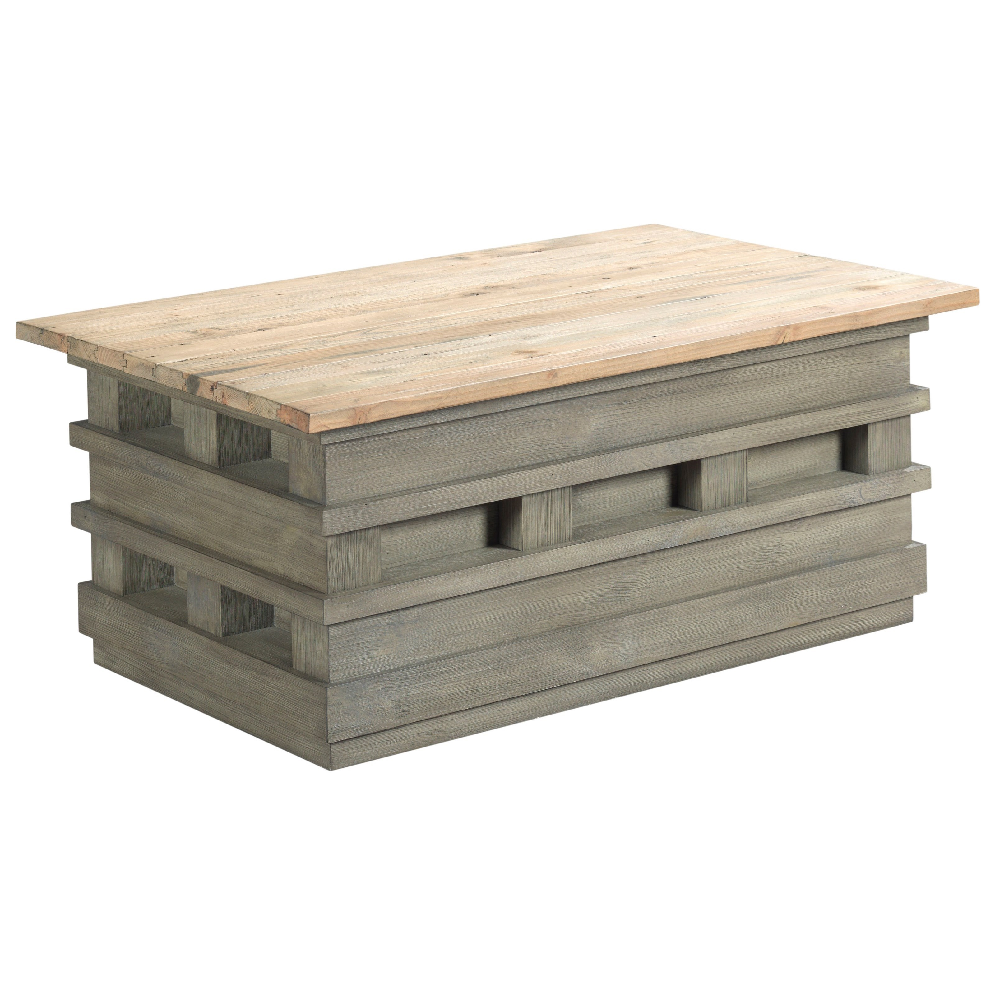 Junction Pallet Lift-Top Cocktail Table by Hammary at Stoney Creek Furniture