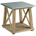 Hammary Junction Truss End Table - Item Number: 710-915