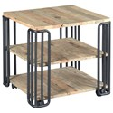 Hammary Junction Plank End Table - Item Number: 710-916