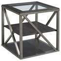Hammary Jupiter Rectangular End Table - Item Number: 543-915