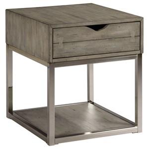 Hammary Lakeland Rectangular Drawer End Table