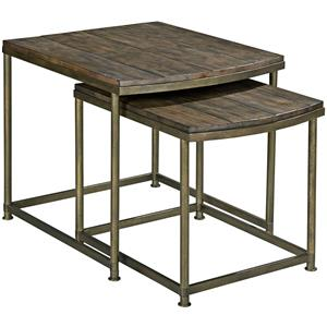Morris Home Furnishings Leone Nesting End Table