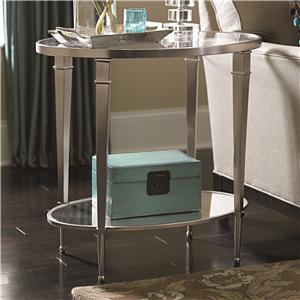 Hammary Mallory Oval End Table