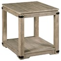 Hammary Marin Rectangular End Table - Item Number: 836-915