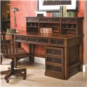 Hammary Mercantile Desk & Hutch with Rolling File - Item Number: 050-940+41+45