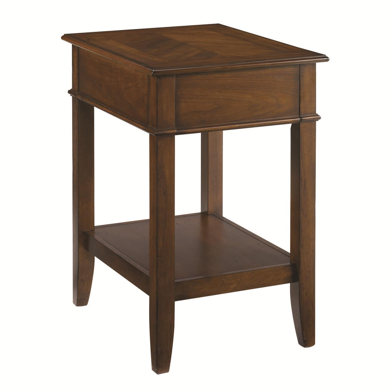 Hammary Mercantile Corner Table - Item Number: 050-942