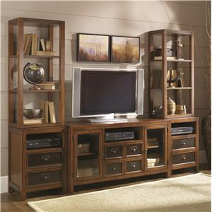 Hammary Mercantile Entertainment Wall Unit