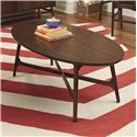 Morris Home Furnishings Mila Oval Cocktail Table