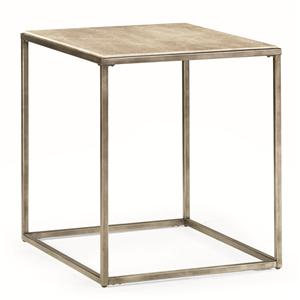 Morris Home Furnishings Modern Basics Loretto Rectangular End Table
