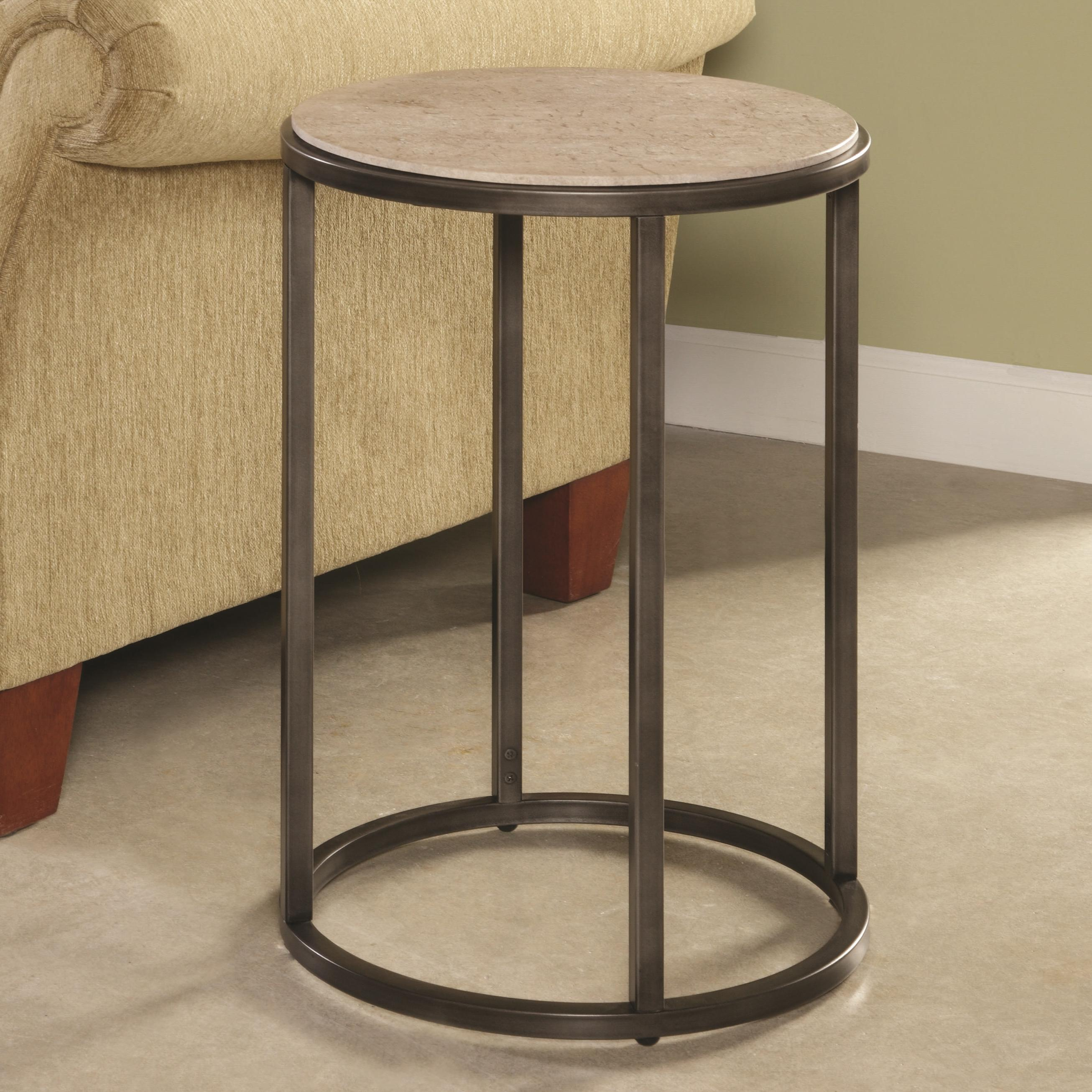 Hammary Modern Basics Round End Table - Item Number: 190-918