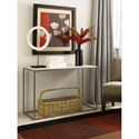 Hammary Modern Basics Sofa Table with Bronze Finish