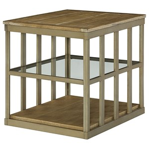 Hammary Modern Theory  Rectangular End Table