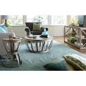Hammary Modern Theory  Sofa Table with Glass Shelf