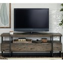 Hammary Modern Timber Industrial Entertainment Console