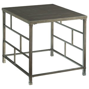 Hammary Newton Rectangular End Table