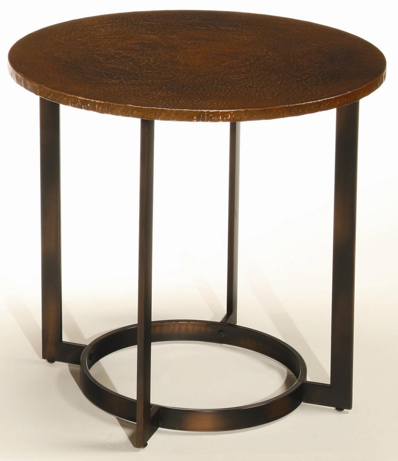 Hammary Nueva Round End Table - Item Number: T2063235-00