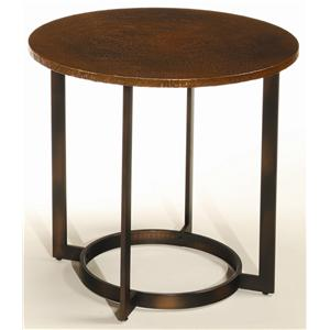 Hammary Nueva Round End Table