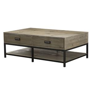 Morris Home Furnishings Parsons Rectangular Cocktail Table