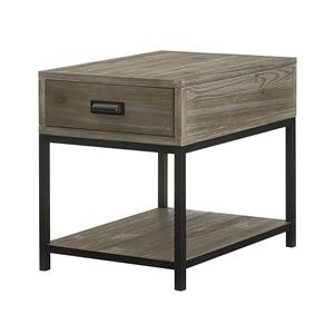 Morris Home Furnishings Parsons Rectangular Drawer End Table