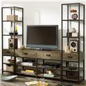 Hammary Parsons Entertainment Unit - Item Number: 444-925+2x580