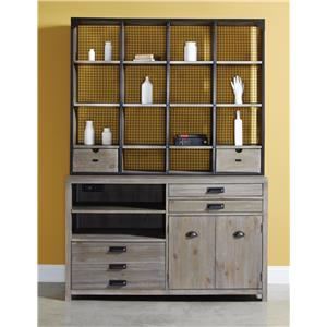 Morris Home Furnishings Parsons Desk and Hutch