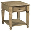 Hammary Proximity Rectangular Drawer End Table - Item Number: 777-915