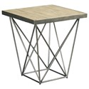 Hammary Rafters Square End Table - Item Number: 796-915