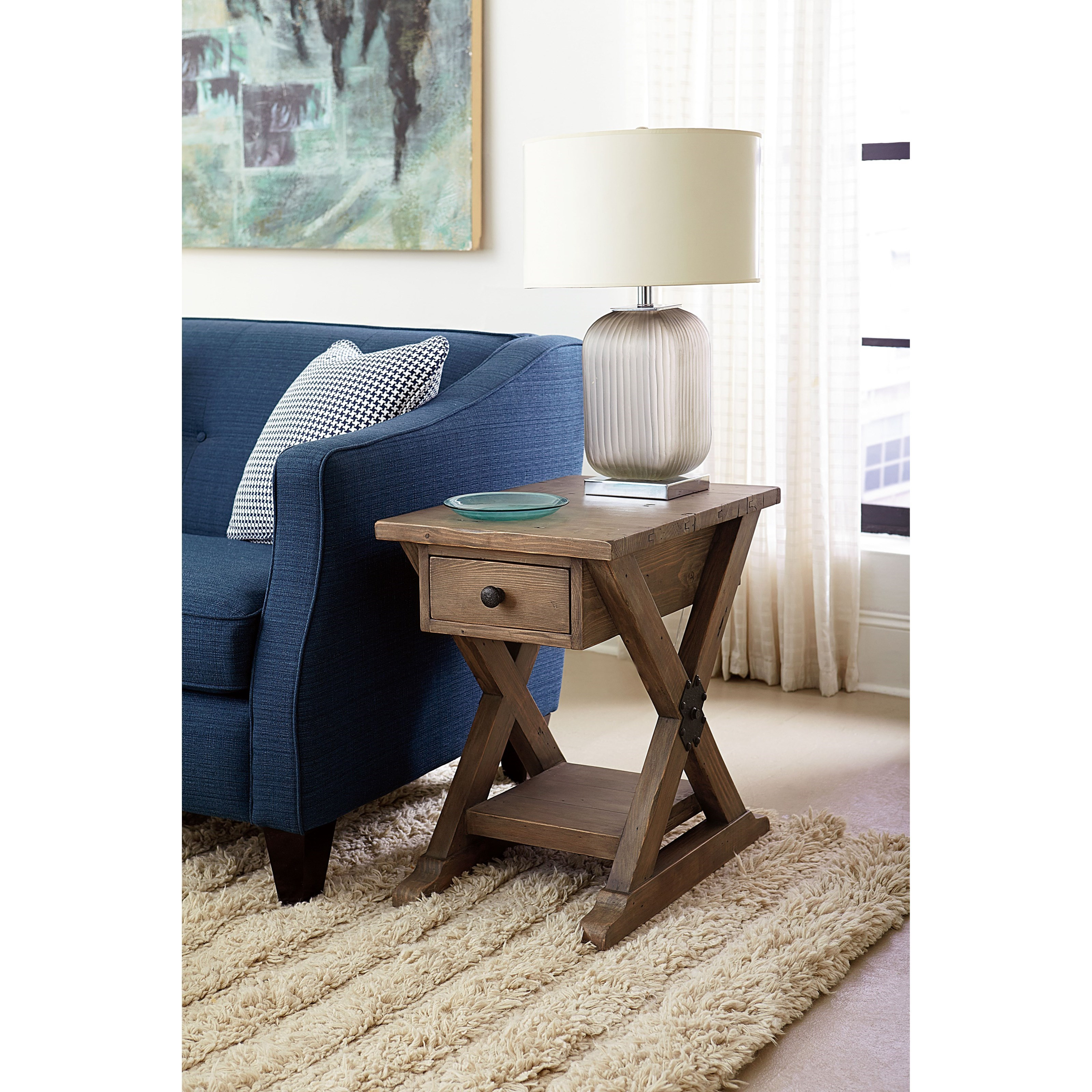 Hammary Reclamation Place 523 916 Farmhouse Chairside