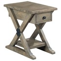 Morris Home Reclamation Place Chairside Table - Item Number: 523-916