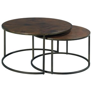 Round Cocktail Table Set