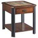 Hammary Slaton Rectangular Drawer End Table - Item Number: 675-915
