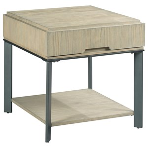 Hammary Sofia Rectangular End Table