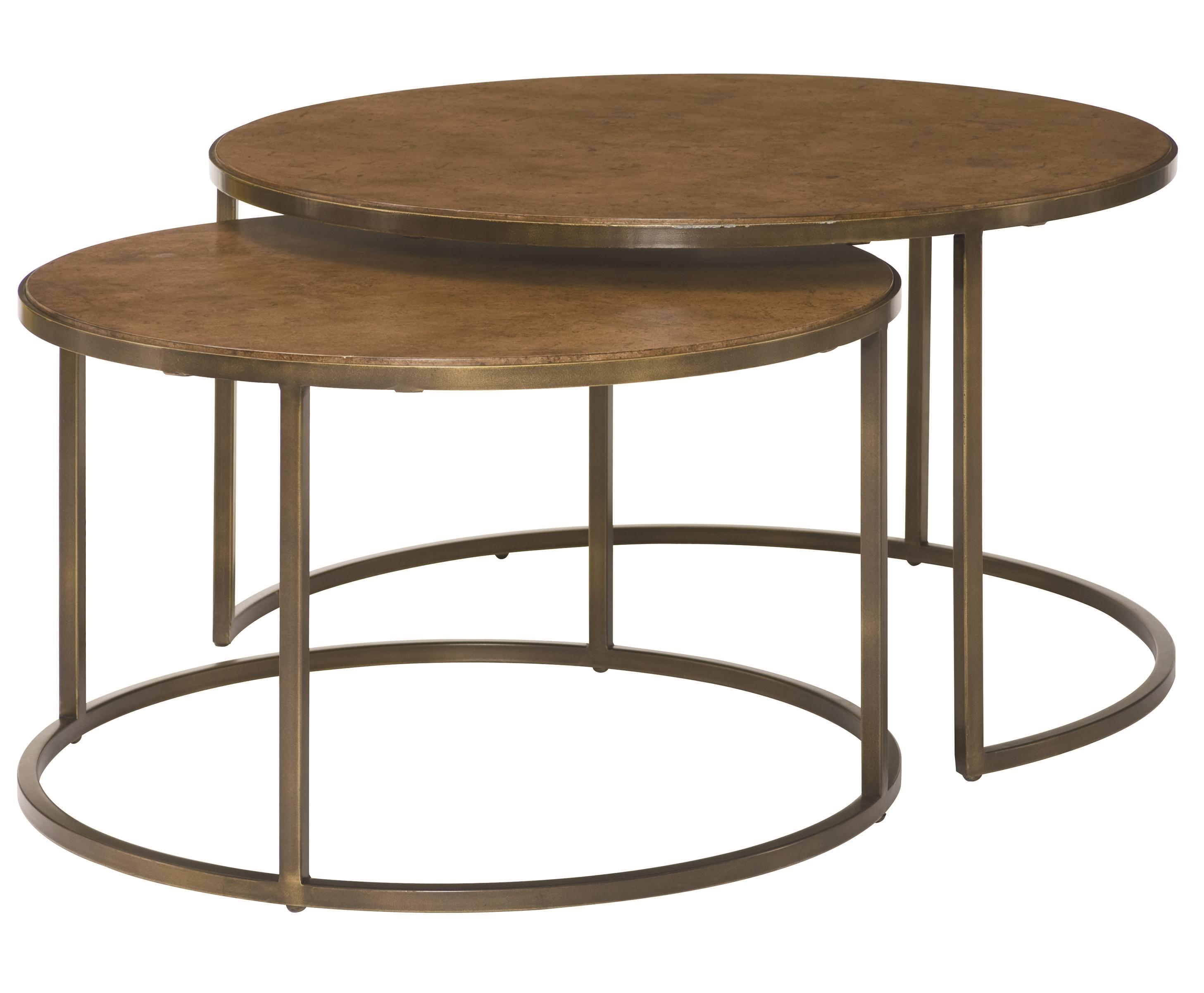 Hammary Soho Nesting Cocktail Table - Item Number: 376-911