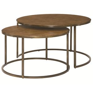 Hammary Soho Round Cocktail Table