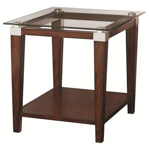Hammary Solitaire End Table