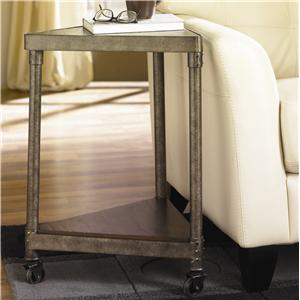 Morris Home Furnishings Structure Wedge Table