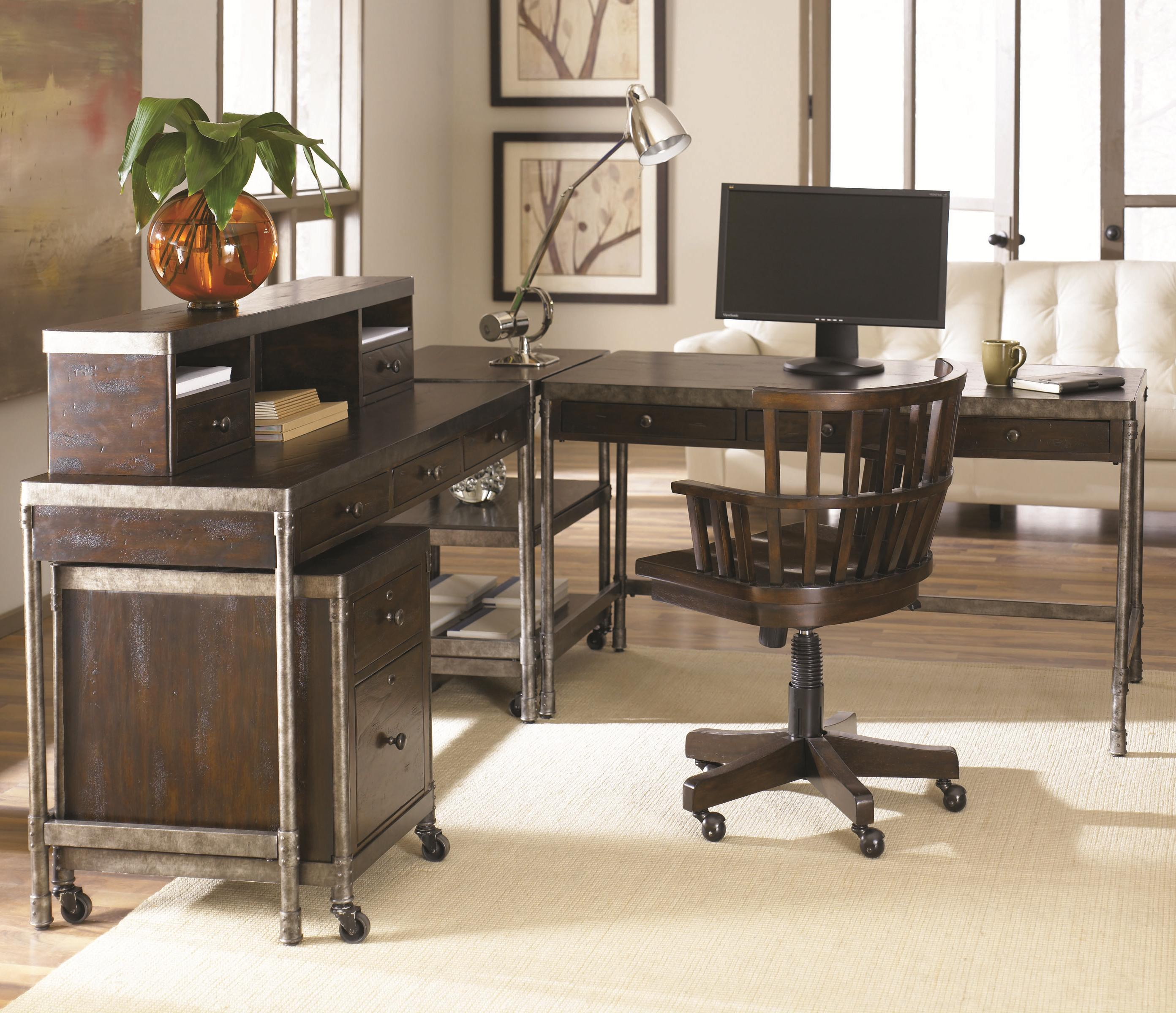Hammary Structure Two Drawer Table Desk Jacksonville