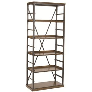 Hammary Studio Home Open Bookcase