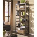 Hammary Studio Home Mission 4-Shelf Open Bookcase