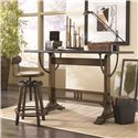 Hammary Studio Home Mission Weathered Oak Architect Desk