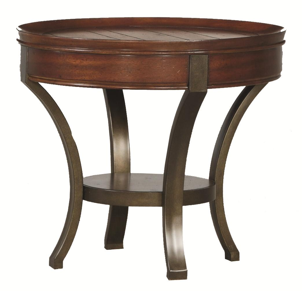 Hammary Sunset Valley Round End Table - Item Number: 197-917