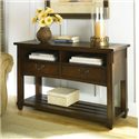 Morris Home Furnishings Tacoma  Mission 2 Drawer Console Table