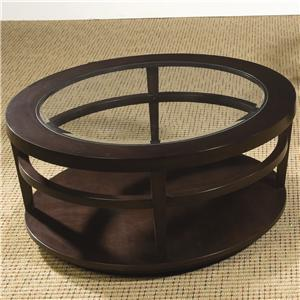 Morris Home Furnishings Urbana Round Cocktail Table