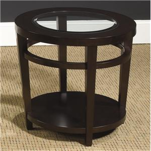 Morris Home Furnishings Urbana Round End Table