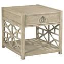 Hammary Vista Biscane Drawer End Table - Item Number: 803-915