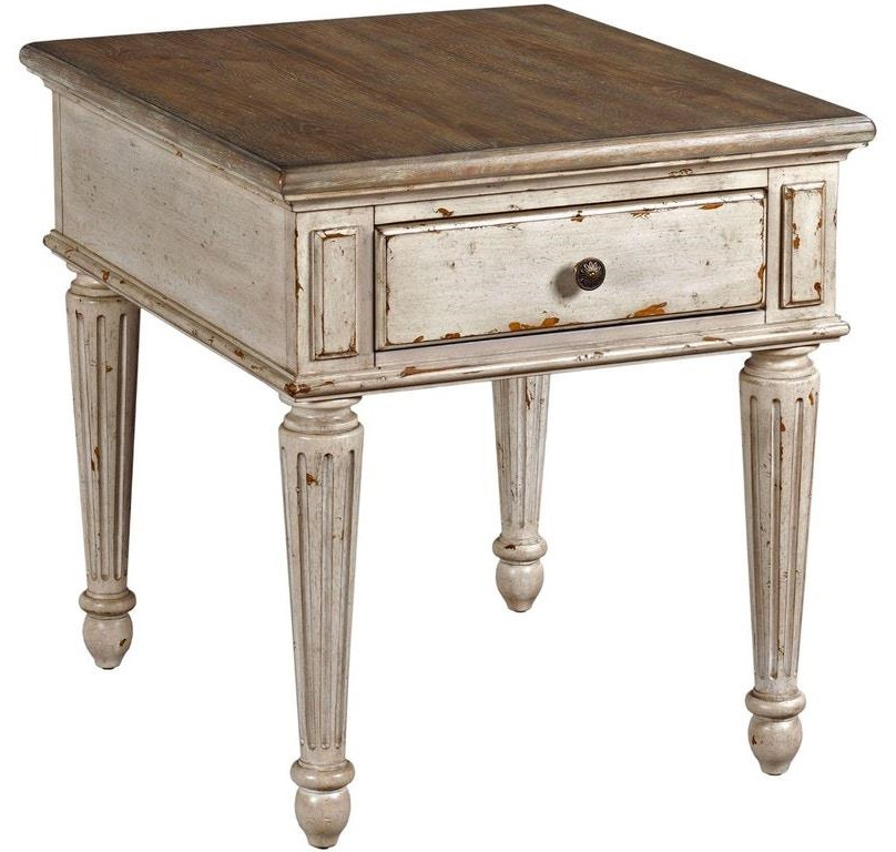 Westview Westview End Table by Hammary at Morris Home