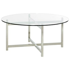 Hammary Xpress Round Cocktail Table